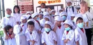 Kunjungan TK James Pakuan School ke Oto Bento