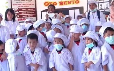 Kunjungan TK James Pakuan School Ke Oto Bento Pamoyanan Bogor