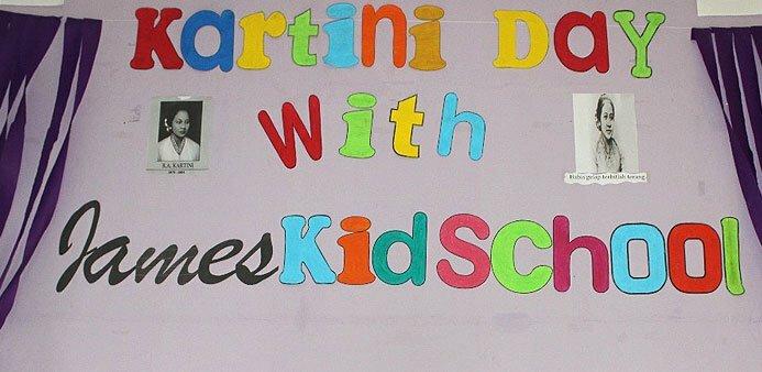 James Kid School Kartini Day 2018