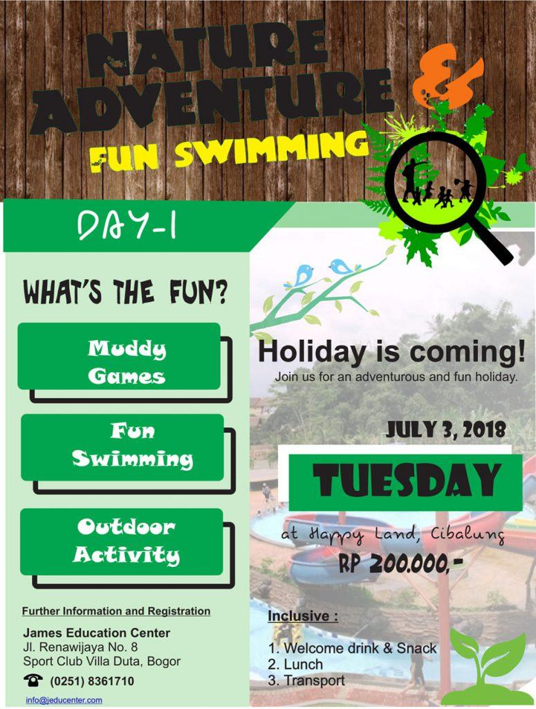 Holiday Program 2018 Day 1