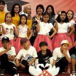 Dancing performance by James Elementary School