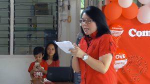 Ma'am Anne bercerita tentang sejarah perjuangan bangsa Indonesia
