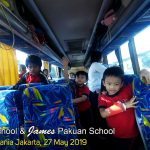 Inside the bus of James Pakuan School