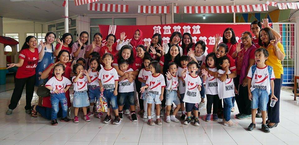 HUT NKRI Yang Ke 74 Bersama James Pakuan School